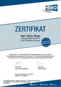 Zertifikat Aktas